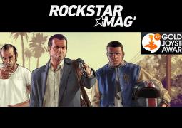 GTA V et GTA Online nommés aux Golden Joystick Awards 2015