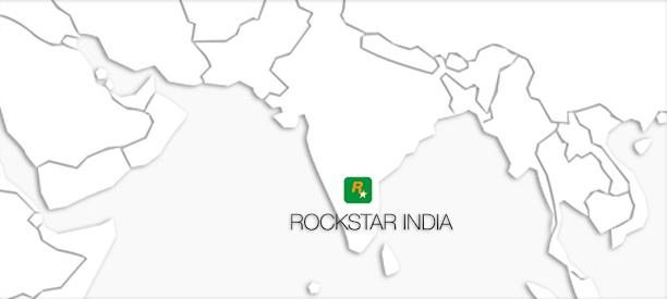 Rockstar India Localisation Map