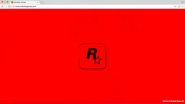 Site Officiel Rockstar Games Bloqué Red Dead