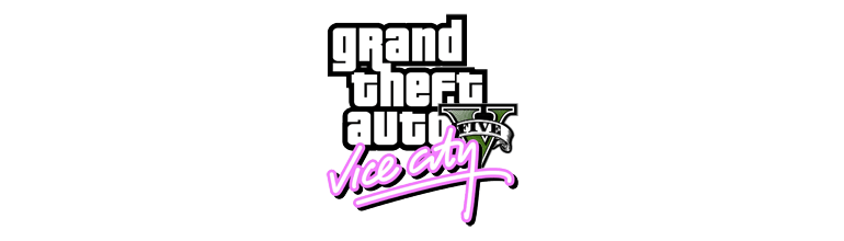 Logo GTA V Vice City