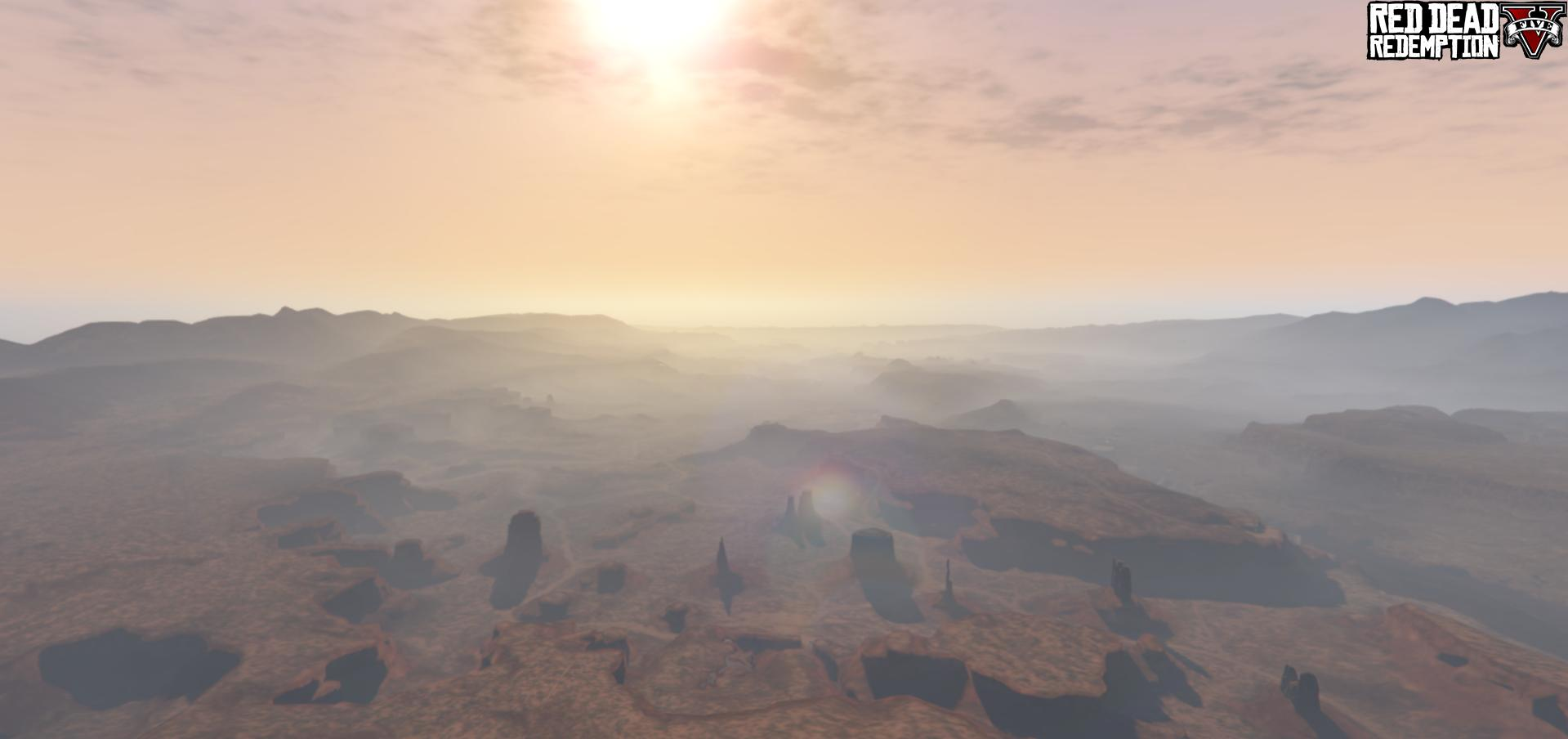 Map Red Dead Redemption V - GTA V