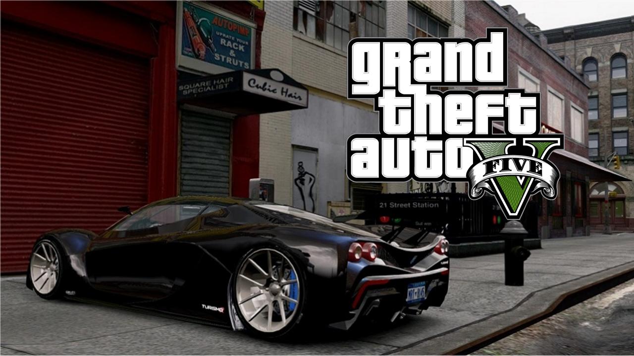 Nouveau Mod Graphic Grand Theft Auto V