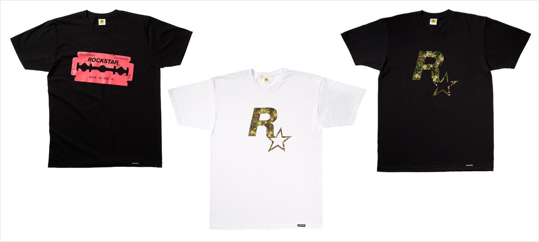 Nouveaux T-Shirts Rockstar Warehouse