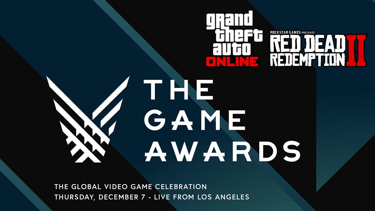 Red Dead Redemption II et GTA Online Game Awards 2017