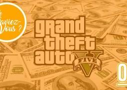 Le Saviez-Vous ? GTA V jeu le plus vendu de l'histoire sur PC et Consoles