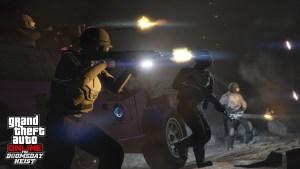 GTA Online Le Braquage de la Fin du Monde : Scénario
