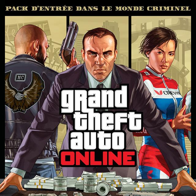 GTA Online : Le Pack d'Entrée dans le Monde Criminel