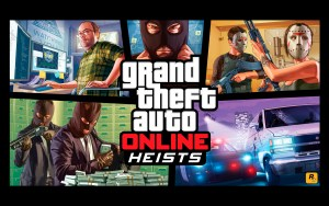Artwork GTA Online - Heists