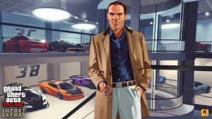 Artwork GTA Online - Import Export