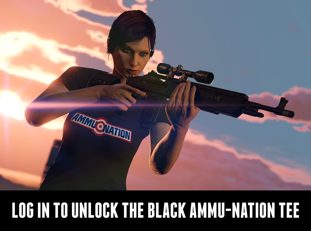 T-Shirt Ammu-Nation
