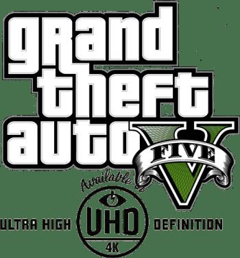 Logo GTA V 4K