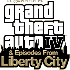 Logo Grand Theft Auto IV Complete Edition