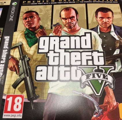 GTA V Premium Online Edition Xbox One