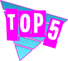 Logo Top 5 by Rockstar Mag