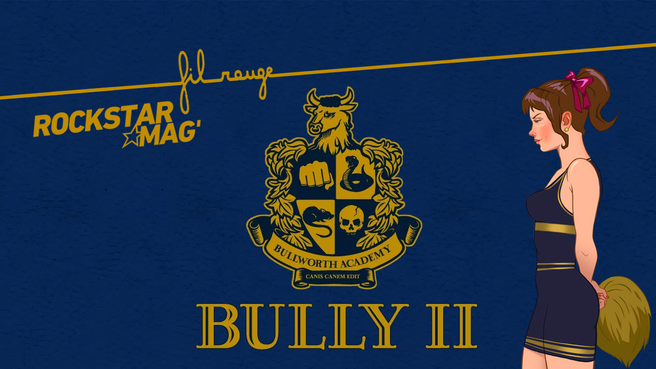 Fil Rouge Rockstar Mag - Bully II / Bully 2