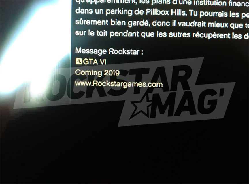 Annonce Fake GTA 6 2019 GTA Online