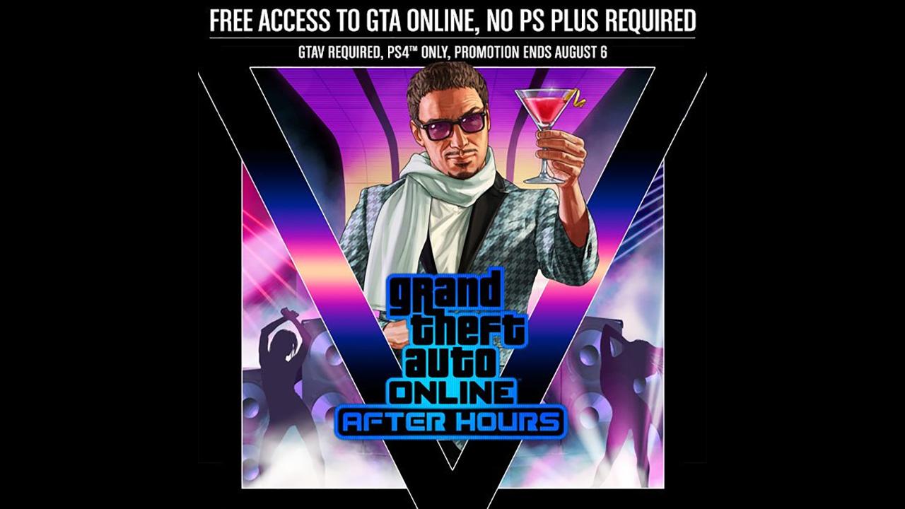 GTA Online - Accès gratuit sur PS4 même sans le PS Plus