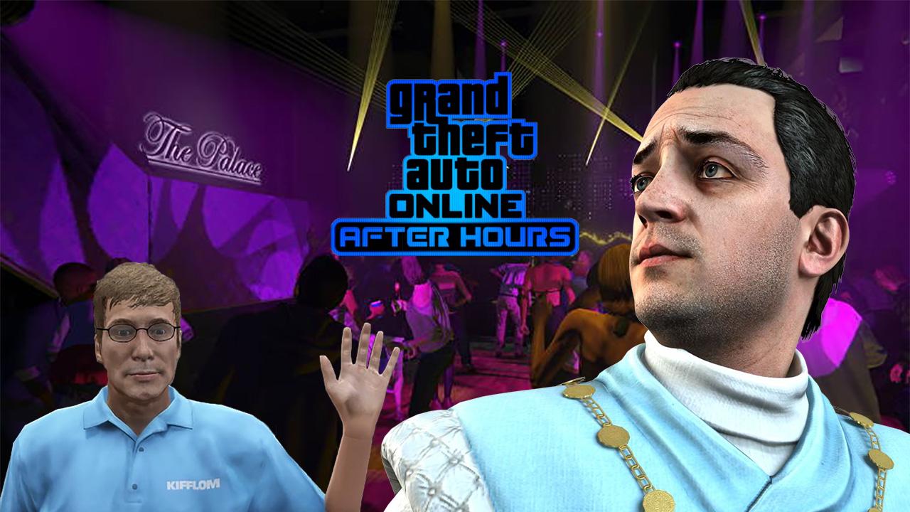 Secret : GTA Online Nuits Blanches et Marché Noir T-Shirt Kifflom After Hours