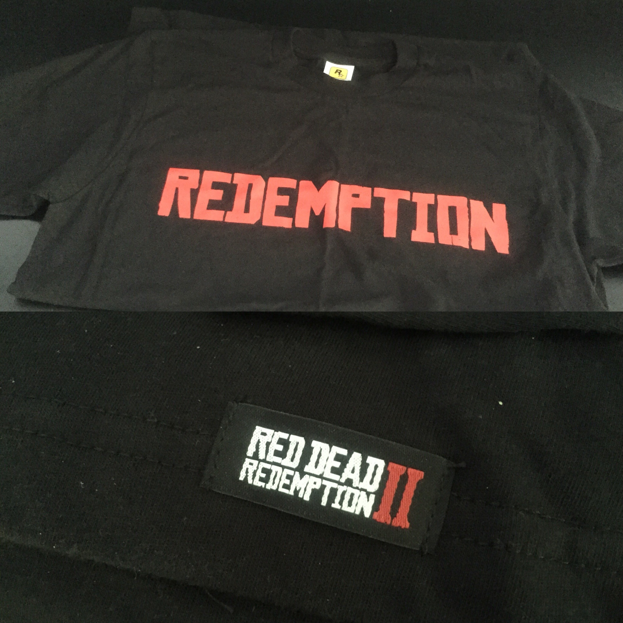 Colis Rockstar Games - Red Dead Redemption II - t-shirt
