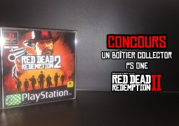 Découvrez notre gagnant de la jaquette PS One de Red Dead Redemption II