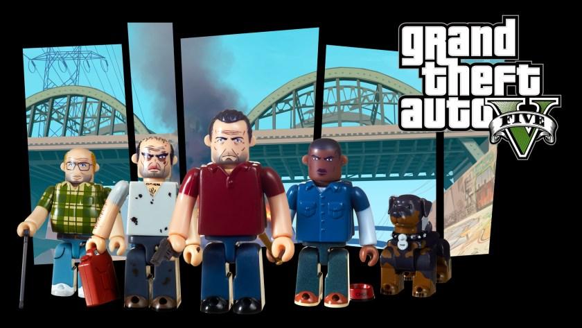 Kubricks Grand Theft Auto V