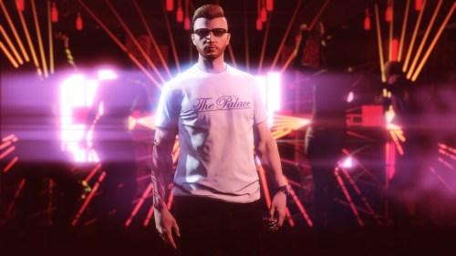T-shirt The Palace dans GTA Online