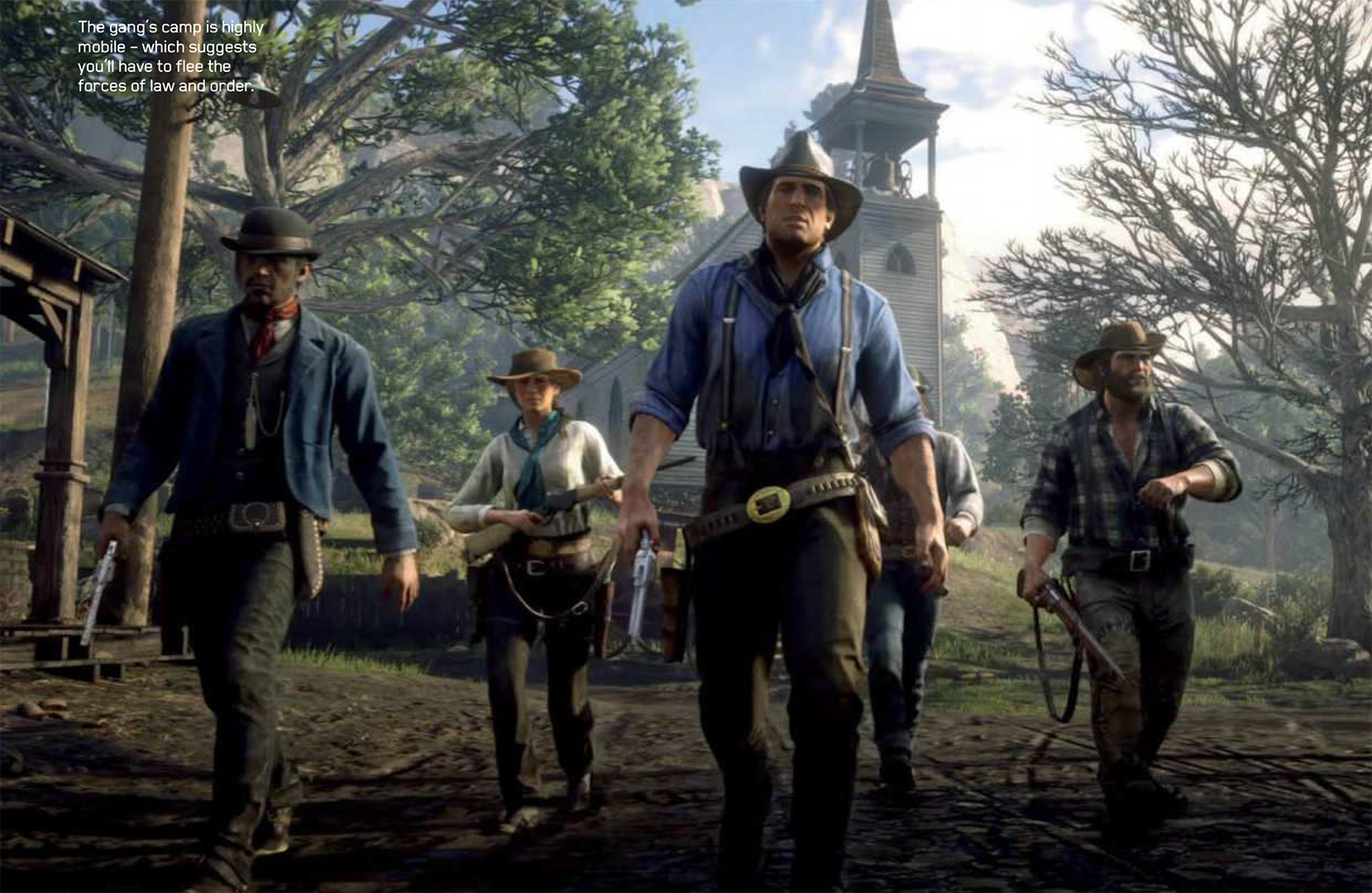 Arthur and the Gang Red Dead Redemption II