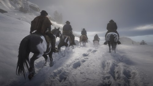 Red Dead Redemption II Mont Hagen