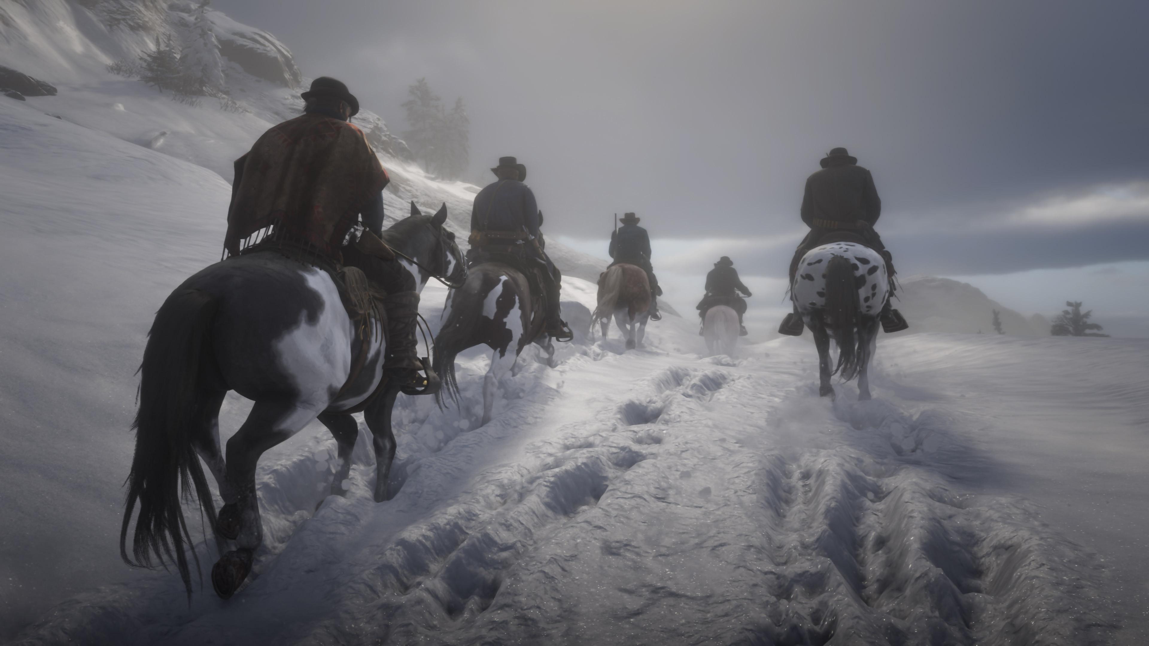 Red Dead Redemption II Mont Hagen
