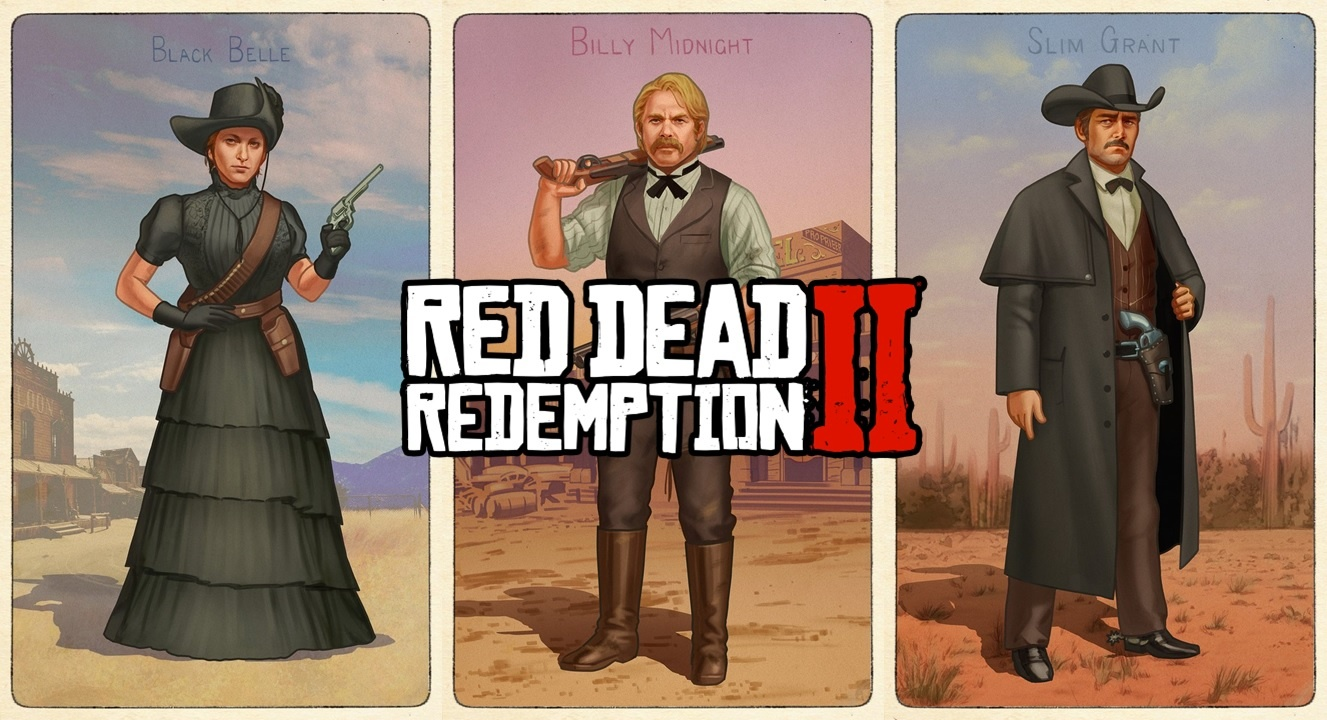 Red Dead Redemption II - As de la gachette