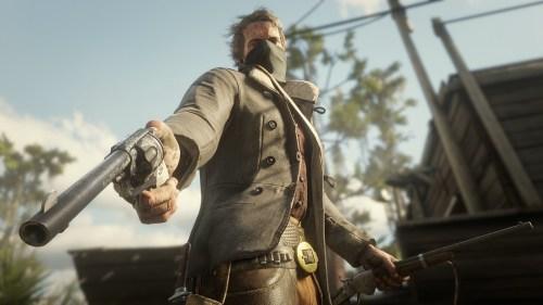 Red Dead Redemption II Personnalisation Armes