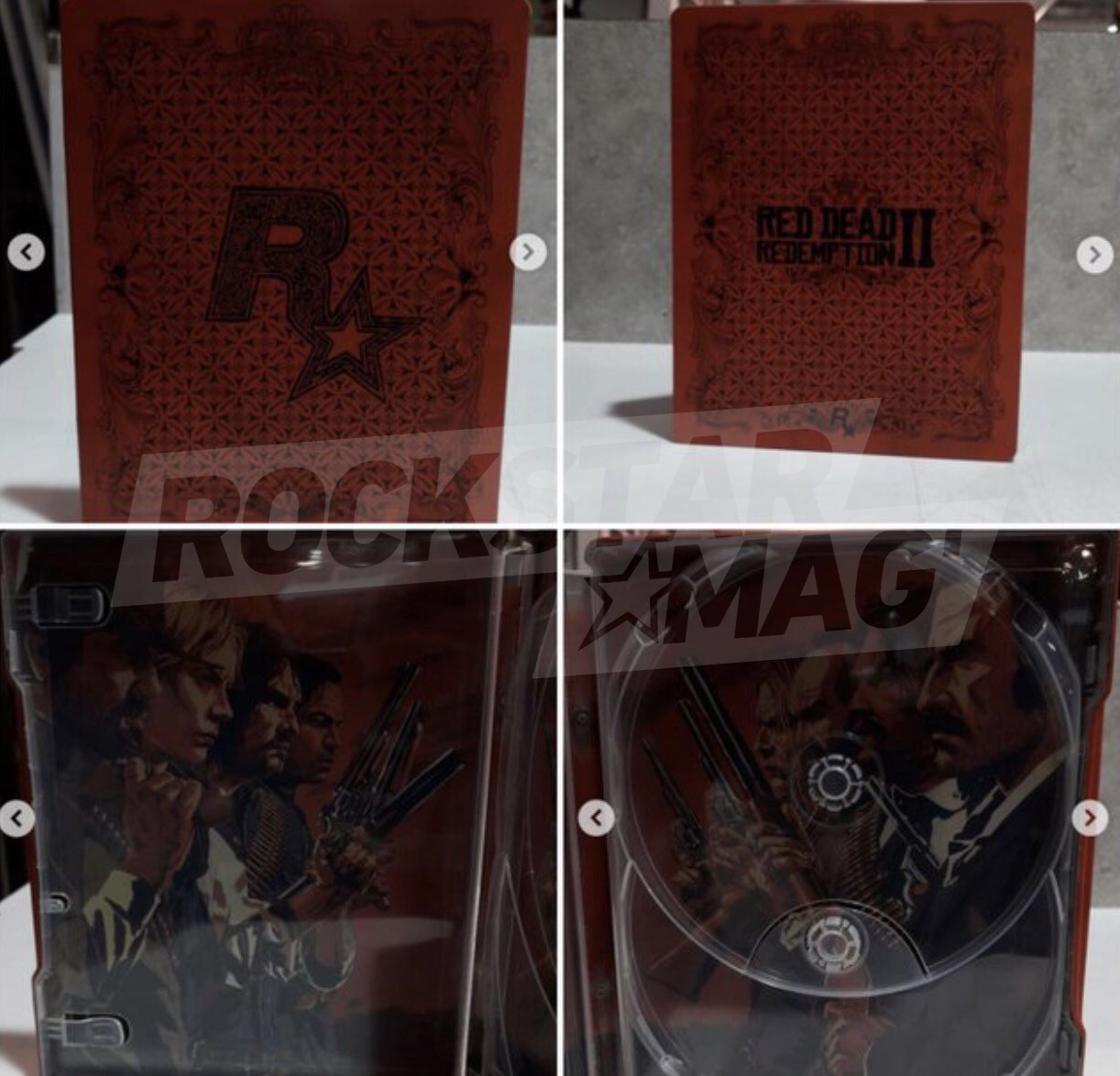 Red Dead Redemption II : Leak Steelbook