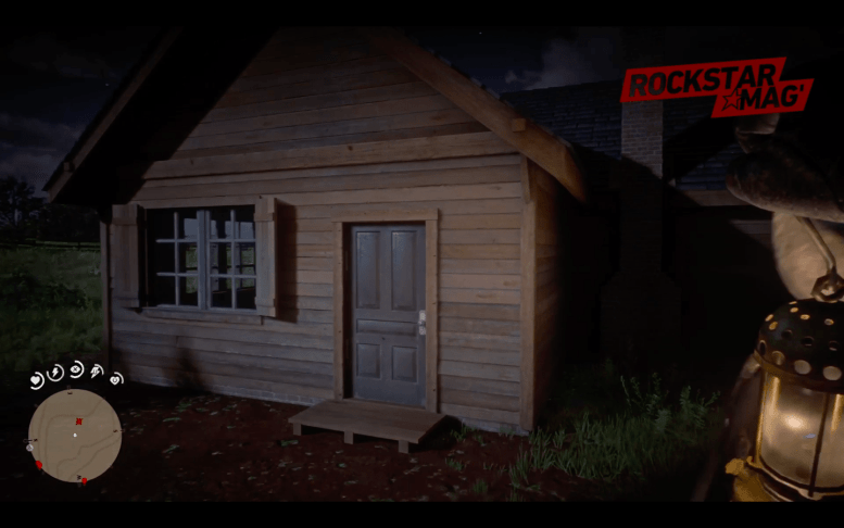 Mystere Red Dead Redemption II - 5 Cabanes