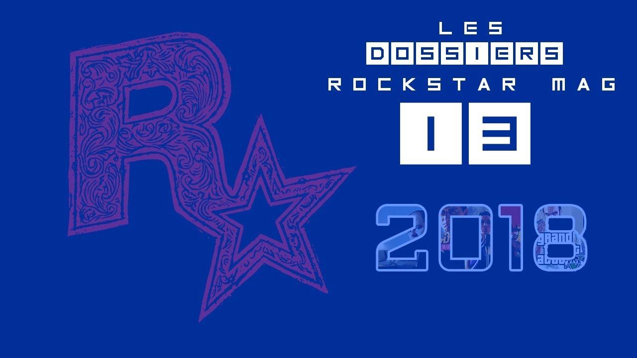 Bilan de l'année 2018 sur Rockstar Games et Rockstar Mag'