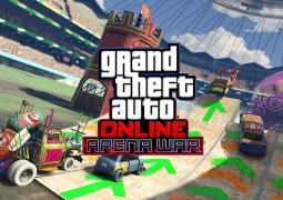 """GTA Online : l'arrivée de l'éditeur d'arène, de 7 courses RC et de la soundtrack officielle """"Guerre d'arène"""" !"""