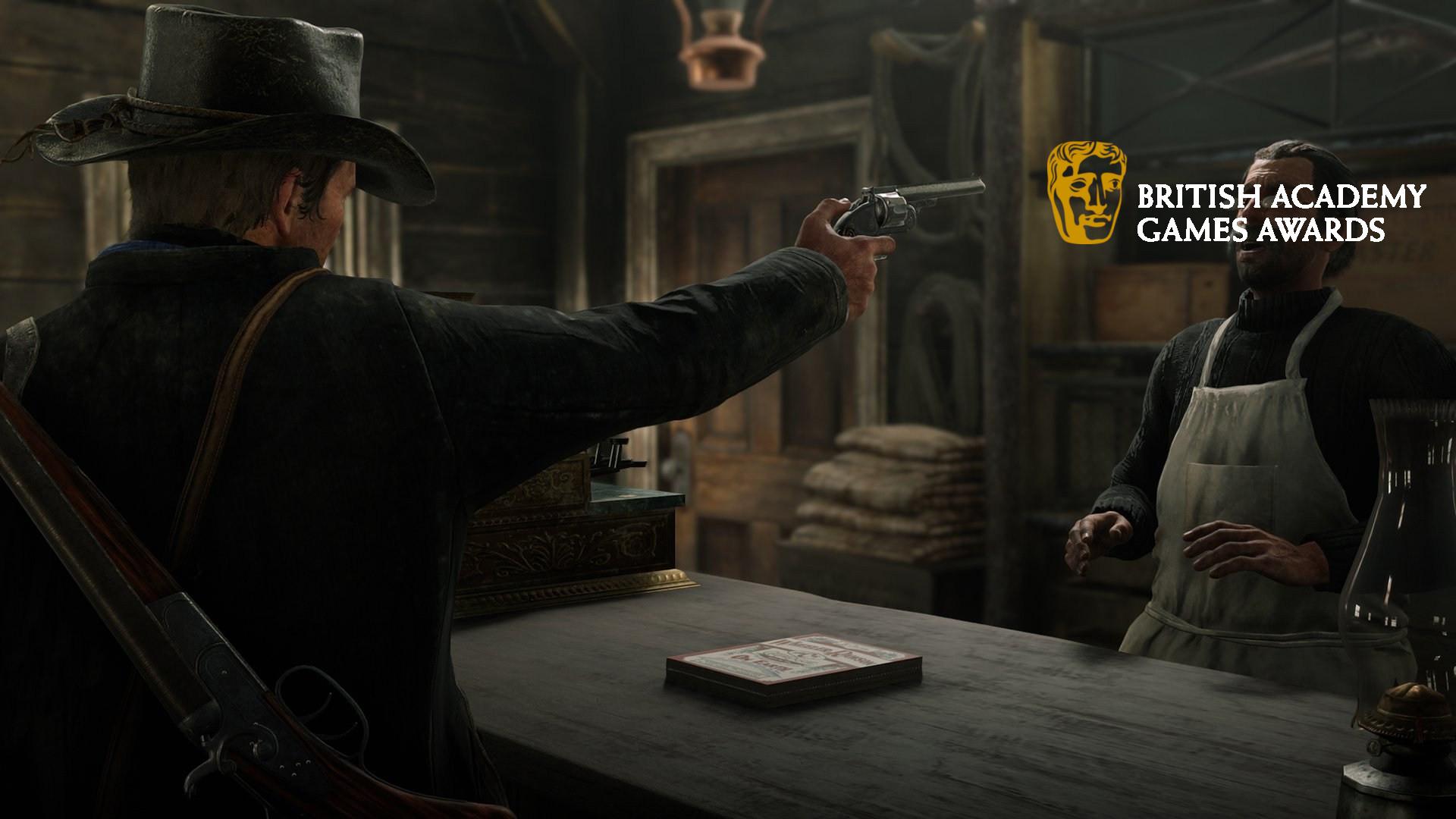 Bannière illustrant la cérémonie des BAFTA Game Awards 2019