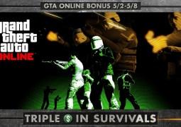 GTA Online : GTA$ triplés sur les survies et trois nouvelles missions de saisies Premium