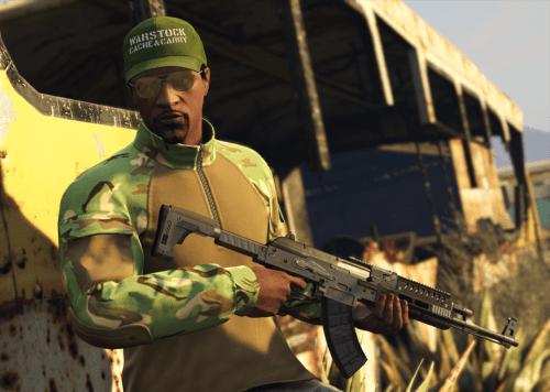 Casquette Warstock offerte dans GTA Online