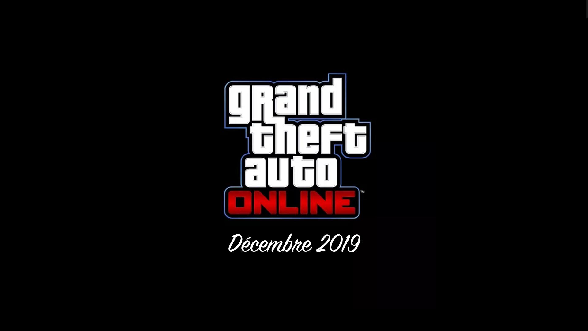 Prochaine mise à jour GTA Online Décembre 2019