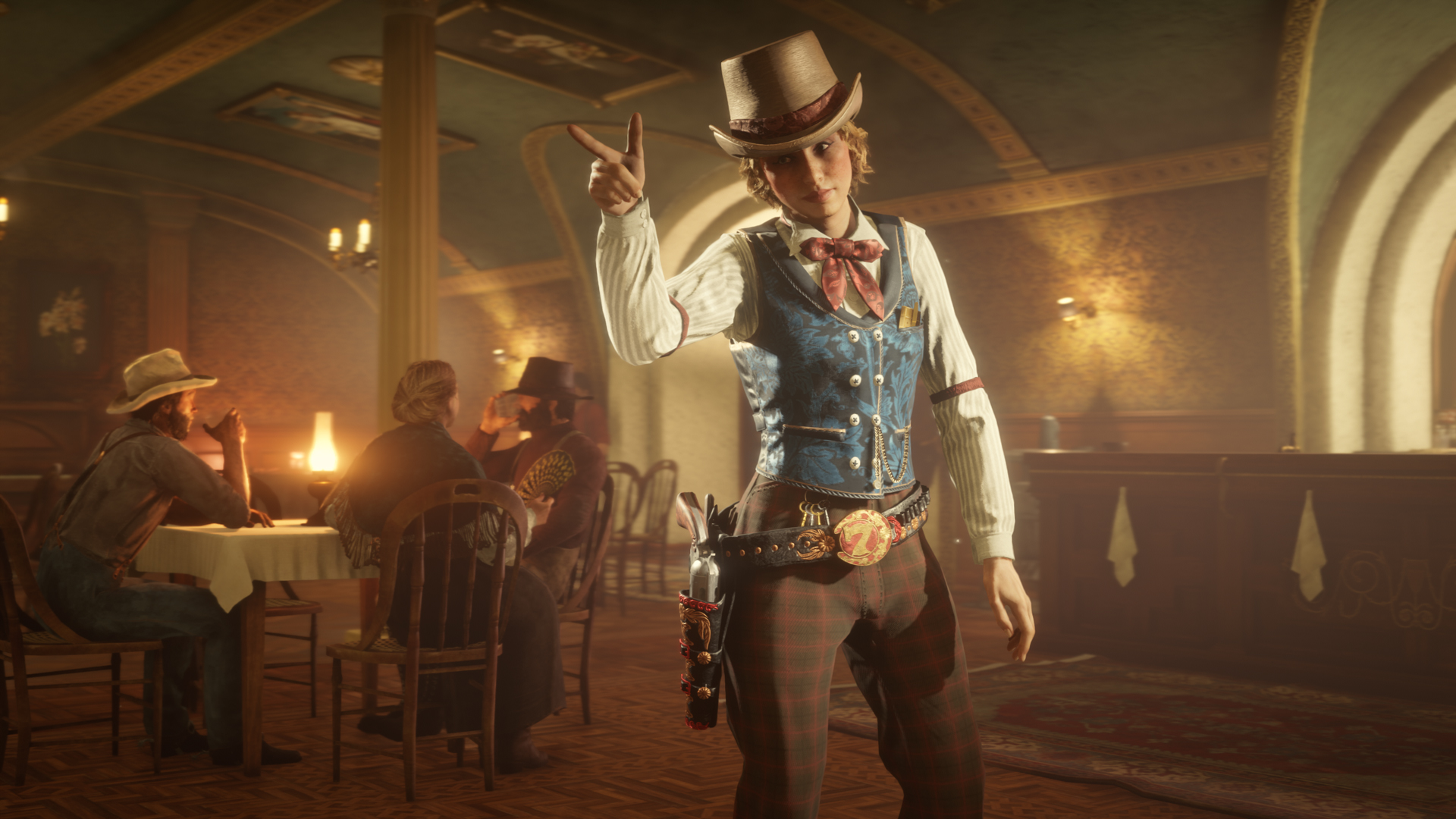 Red Dead Online Bar Clandestin