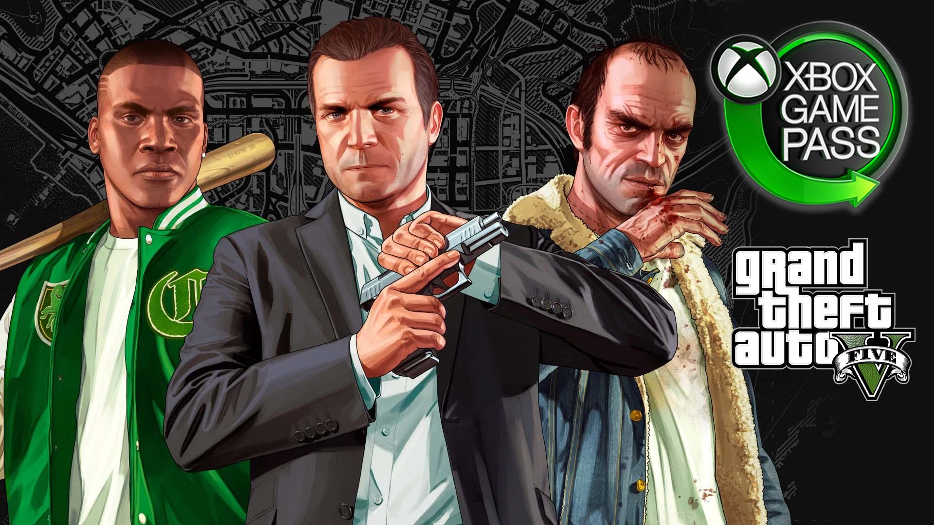 Grand Theft Auto V Xbox Game Pass
