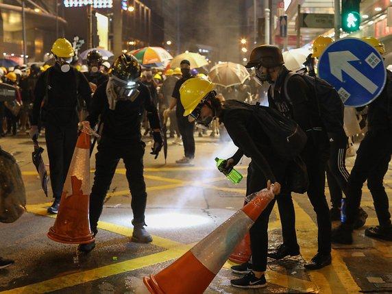 Manifestation Hong Kong