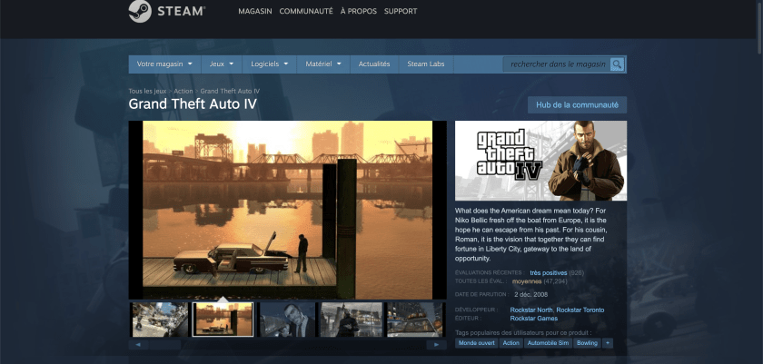 GTA 4 Steam Indisponible
