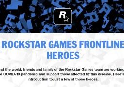 Rockstar Games : une page dédiée aux héros combattant le COVID-19 mise en ligne