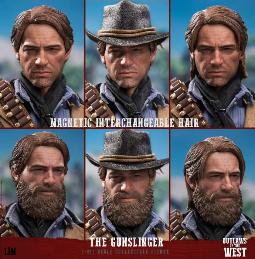 Figurine Gunslinger Red Dead Redemption II (1)
