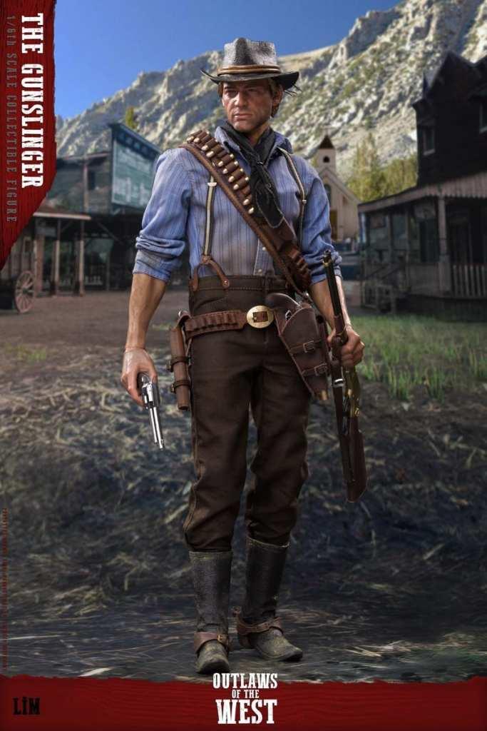 Figurine Gunslinger Red Dead Redemption II (5)