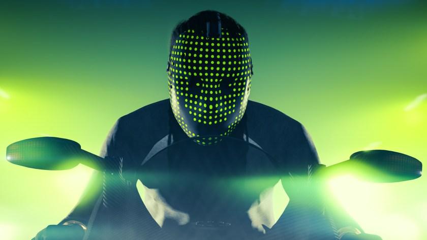 Masque Green dot