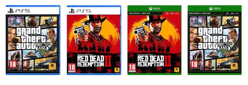 GTA V & Red Dead Redemption II Next-Gen