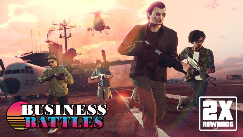 Guerre commerciales doublees GTA Online