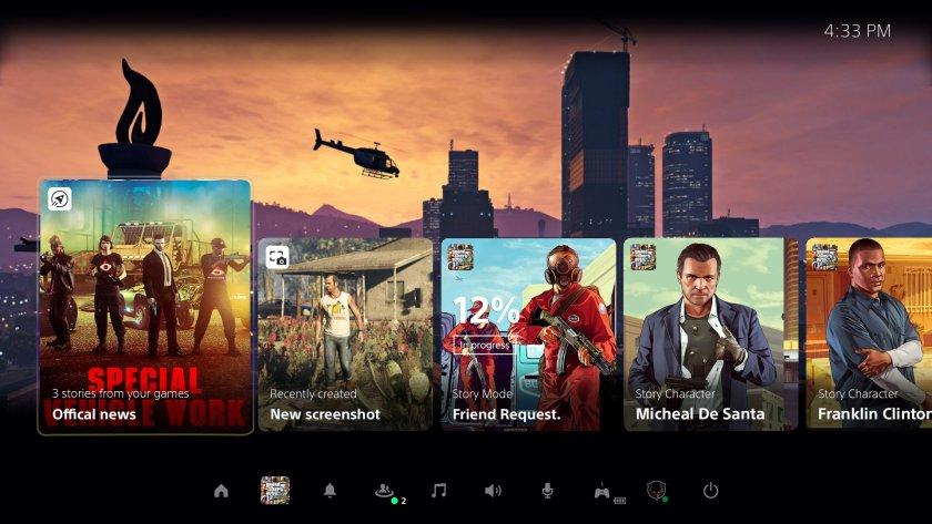 GTA V Menu PS5 (FanArt)